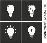 lamp vector icons set....   Shutterstock .eps vector #615852248