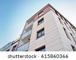 modern  luxury apartment...   Shutterstock . vector #615860366