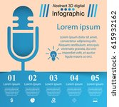 business infographics.... | Shutterstock .eps vector #615932162