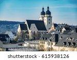 st. john's church in plauen in... | Shutterstock . vector #615938126