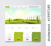 website template and landscape...