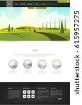 website template and landscape...