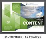 presentation layout design... | Shutterstock .eps vector #615963998