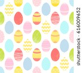 seamless pattern.pattern with... | Shutterstock .eps vector #616009652