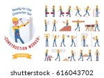 ready to use character set.... | Shutterstock .eps vector #616043702