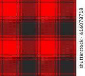 seamless buffalo plaid pattern. ... | Shutterstock .eps vector #616078718