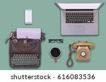 past  present and future of... | Shutterstock . vector #616083536