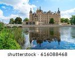 schweriner schloss. this... | Shutterstock . vector #616088468