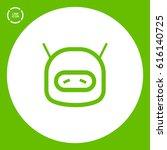 technology isolated minimal... | Shutterstock .eps vector #616140725