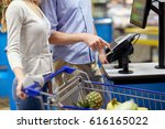 shopping  sale  payment ... | Shutterstock . vector #616165022