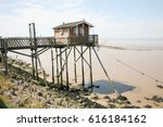 Wooden Hut On The River