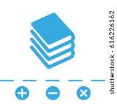 book vector icon | Shutterstock .eps vector #616226162