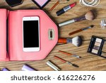equipment tour of the teen girl ... | Shutterstock . vector #616226276