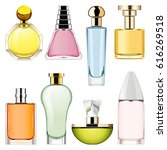 vector perfume icons set 2 | Shutterstock .eps vector #616269518
