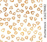 romantic seamless pattern with... | Shutterstock .eps vector #616278482