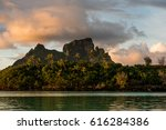 otemanu tahiti bora bora   Shutterstock . vector #616284386
