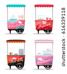 Carts Set Retail  Popcorn ...