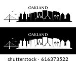 oakland skyline   california
