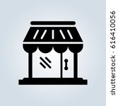 store icon | Shutterstock .eps vector #616410056