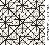 seamless pattern with squares.... | Shutterstock .eps vector #616412486