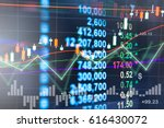 digital data indicator analysis ... | Shutterstock . vector #616430072