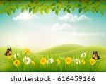 Spring Nature Landscape...
