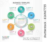 infographics elements diagram... | Shutterstock .eps vector #616467755