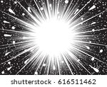 background of radial lines for... | Shutterstock .eps vector #616511462
