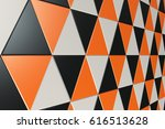 pattern of black  white and... | Shutterstock . vector #616513628