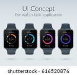ui design concept for watch...