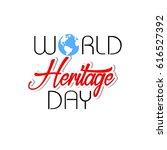 happy heritage day | Shutterstock .eps vector #616527392