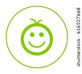 smile baby line vector icon | Shutterstock .eps vector #616527668