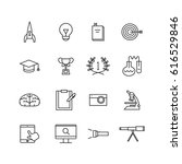 icon study  vector | Shutterstock .eps vector #616529846