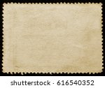 old grunge posted stamp reverse ... | Shutterstock . vector #616540352