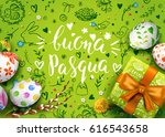 template vector card with... | Shutterstock .eps vector #616543658