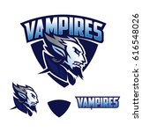 vampire vector logo | Shutterstock .eps vector #616548026
