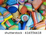 hand made wicker bag | Shutterstock . vector #616556618