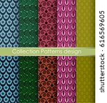 pattern vector color graphic...   Shutterstock .eps vector #616569605