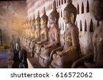 Old Buddha Statue In Laos ...