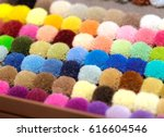 various colorful carpet... | Shutterstock . vector #616604546