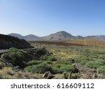 national park pico de teide  | Shutterstock . vector #616609112