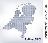 vector hexagon map of...   Shutterstock .eps vector #616624286