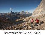 mondeval area  italy   october... | Shutterstock . vector #616627385