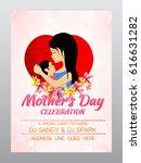 elegant greeting card design... | Shutterstock .eps vector #616631282