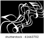 music theme | Shutterstock .eps vector #61663702