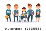 vector illustration icon group... | Shutterstock .eps vector #616655858