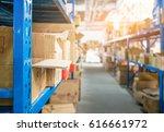 supermarket warehouses inside ...   Shutterstock . vector #616661972