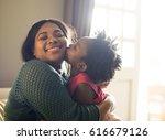 african descent family house... | Shutterstock . vector #616679126