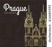 Prague. Czech Republic. Hand...