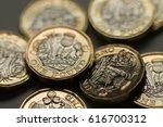 new british pound coins  2017... | Shutterstock . vector #616700312